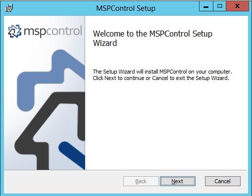 روش نصب کنترل پنل MSPControl در سرور ویندوز