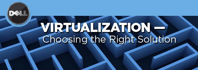 انتخاب درست تکنولوژی مجازی سازی