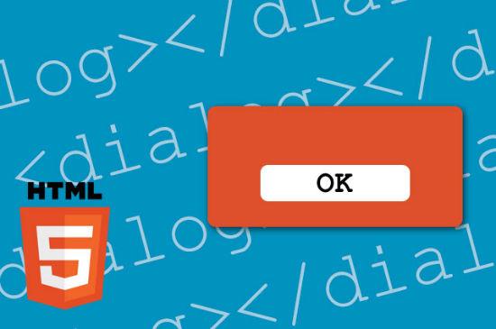 تگ dialog و کاربرد آن در html