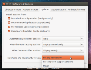 آپگرید لینوکس Ubuntu به ورژن جدید