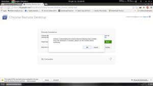 نصب پلاگین Chrome remote Desktop روی لینوکس