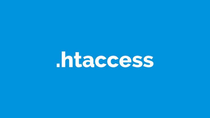 فایل htaccess.