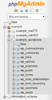 آموزش بهینه سازی و تعمیر دیتابیس از phpMyAdmin هاست