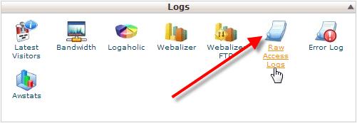 چگونگی کانفیگ raw access logs در هاست