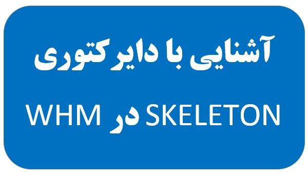 آشنایی با دایرکتوری SKELETON در WHM